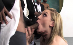 Teen Lily LaBeau Sucks A Lot Of Black Cocks
