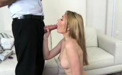 Fake Agent Nervous young amateur with hot body