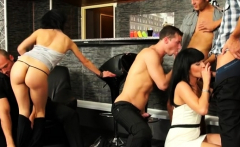Cutie Pie Gets Anal Drilled By Two Bi-sexual Males