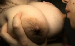 Japanese Milfs Shaking Knob Between Their Large Tits