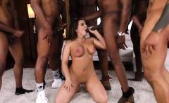 Hot pornstar interracial and cumshot