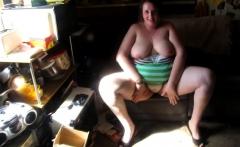 Cum load on fat chicks big tits