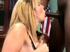 Mature Boss Sara Jay Interracial Sex Applicant
