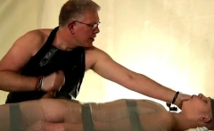 Twink gay sex styles first time Strapped down and at the gra