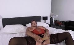 redhead bbw mature masturbating