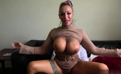 Hot milf spanking with cumshot