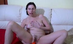 OldNannY Lonely Mom Solo Pussy Masturbation