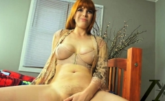 Natural tits milf fetish and creampie