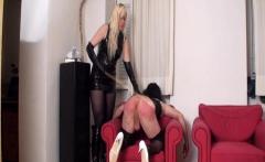Nylon Ladies spanks slaves