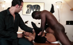 Hardcore Interracial Hot Babe Fucking with Big Cocks