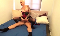 YOUNG GUY CAUGHT GERMAN STEP-MOM AND SUPRISE HER WITH FUCK