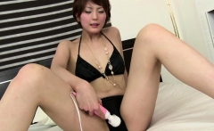 A Big Vibrator Has Saori - More at javhd.net