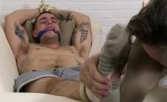 Teen gay cock and feet aussie guys KC Captured, Bound & Wors