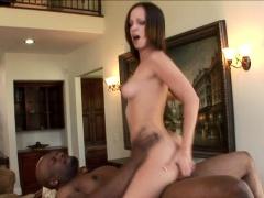 Jada Stevens takes on big black cock