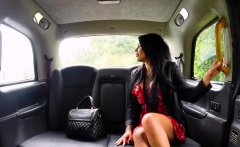 Fake Taxi Horny deepthroat and busty anal fuck