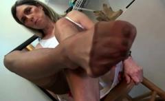 Erotic nylon fetish