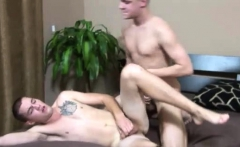 Straight boy first gay blow job and broke boys Leaning over,