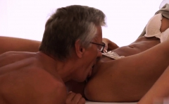 Old guy fucks hard Finally she's got her boss dick