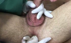 Free male physical exam video gay After a while I had my leg