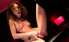 Thin Beauty Uses Her Fingers To Make Sure She Cums