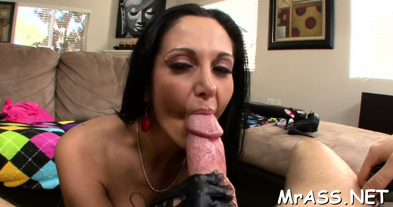Enjoyable breasty adorable gf ava addams gets knob