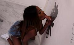 Ebony Kinsley Karter Does Everything For Gloryhole Sex