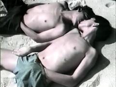 Vintage Homosexuals Outdoor Gay Scene They Suck Each