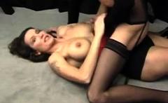 French MILF Bettina Kox lesbian sex with big boobs slut