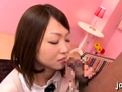 Playgirl Plays With Large Boobs And Gives Warm Oral-job