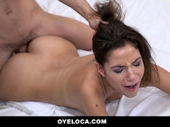 Teamskeet - Eager Latina Gets Suprised And Fucked By Her Man