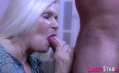 Dick sucking brit granny Lacey Starr