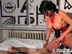 Domme Carmen Rivera Ties Up Her Thrall Truly Hard