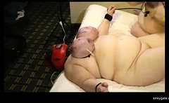 Tits ordeal for fat slave Anja