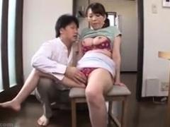 Busty Asian Girl With Huge Dark Nipples