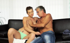 DADDY4K. Old and young sex in the villa