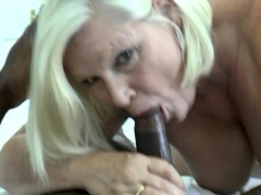 British Grandma Gets Pounded And Licked