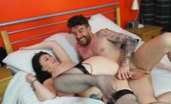 Luke Hotrod cums on Sabrina's gigantic boobs