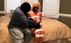 Busty blonde milf mature amateur handjob