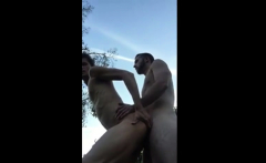 Straight Guy Fuck Twink (outdoor)