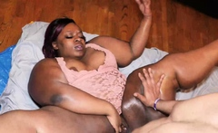 GAWD her ass is phat bbw kurvy star loves bbc