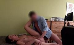 LOAN4K. Sexy chick gives blowjob and gets nailed