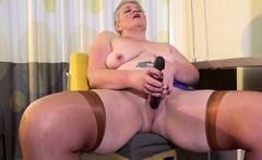 EuropeMaturE Horny Mature Candy Solo Masturbation