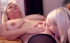 LACEYSTARR - Granny Lacey Loves Young Pussy