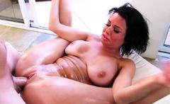 Naughty America - Veronica Avluv gets a wet juicy creampie