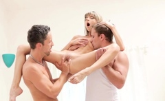 Shameless Teen Blonde Gina Gerson Fucked By Monster Fang