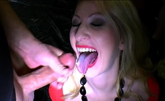 German Milf Slut Anna Loves Extreme Bukkakes
