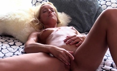 LETSDOEIT - Beautiful Czech blondie Victoria Pure cums in