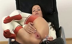 Kinky Chick Pantyhose BDSM Sex