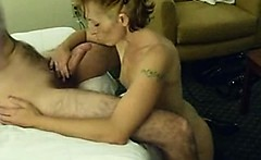 Milf sucking and enjoy with cock